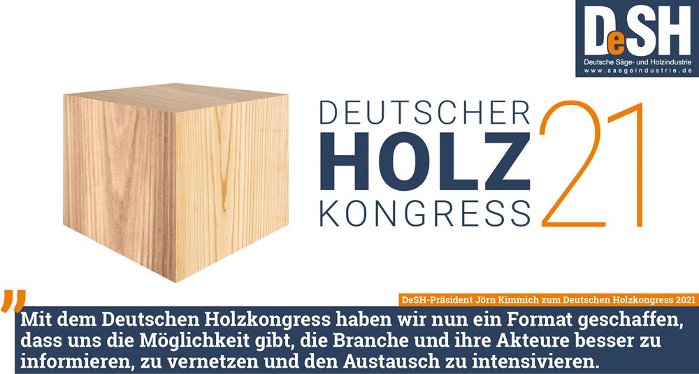 DeSH startet Deutschen Holzkongress 2021