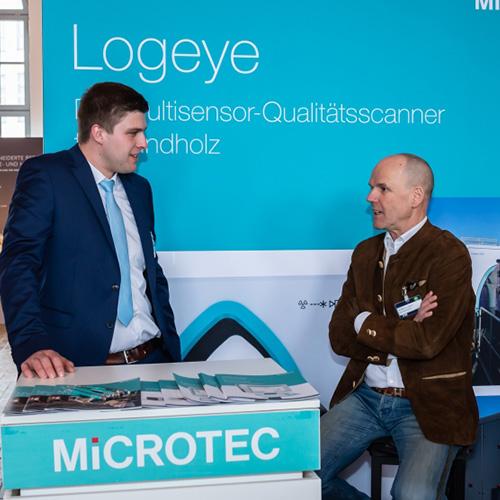 Microtec digitales Ausstellerbild